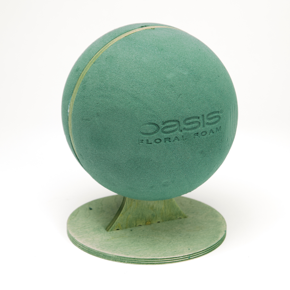 OASIS® Bioline Ideal Floral Foam Football on Stand