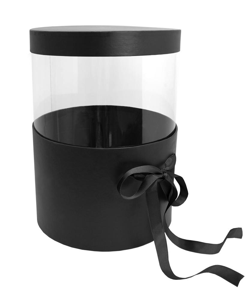 Pandora Adjustable Hatbox Set of 2 - Black